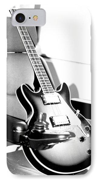 Therapeutic Guitar 3 Phone Case by Sandra Pena de Ortiz