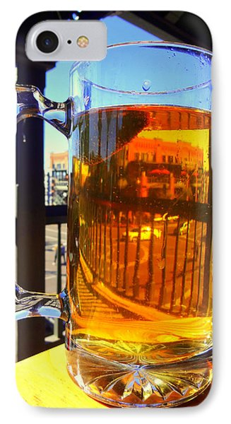 There's A Car In My Beer.... IPhone Case