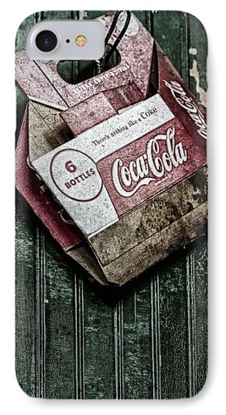 Theres Nothing Like A Coke IPhone Case by Susan Candelario