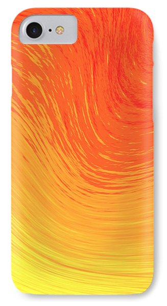 Heat Wave IPhone Case by Kellice Swaggerty