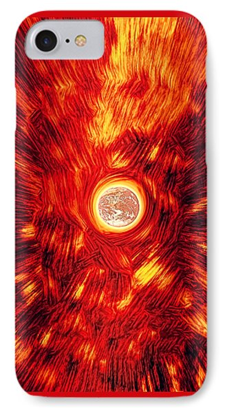 IPhone Case featuring the photograph Thermodynamic Forces by Kellice Swaggerty
