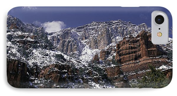 These Are The Red Rocks Of Sedona IPhone Case by Panoramic Images
