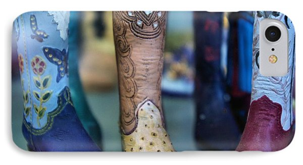 IPhone Case featuring the photograph These Boots Are Made For Walking by John S