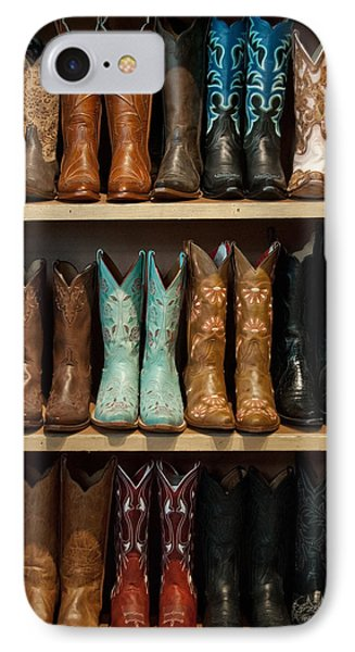 These Boots Were Made For Walking IPhone Case by Jani Freimann