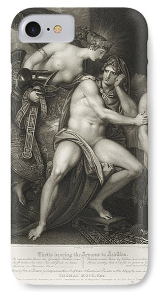 Thetis Bearing The Armour To Achilles IPhone Case by British Library