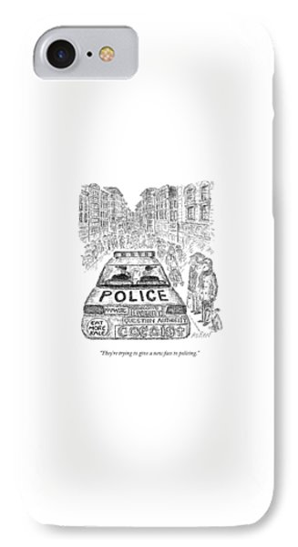 They're Trying To Give A New Face To Policing IPhone Case by Edward Koren