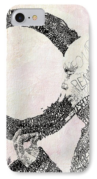 Thich Nhat Hanh IPhone Case by Michael Volpicelli