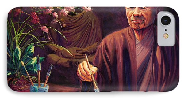 Thich Nhat Hanh IPhone Case by Steve Simon