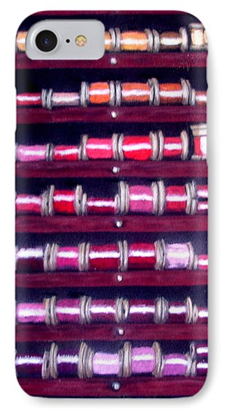 Thimbles In Cabinet IPhone Case by Joseph Hawkins