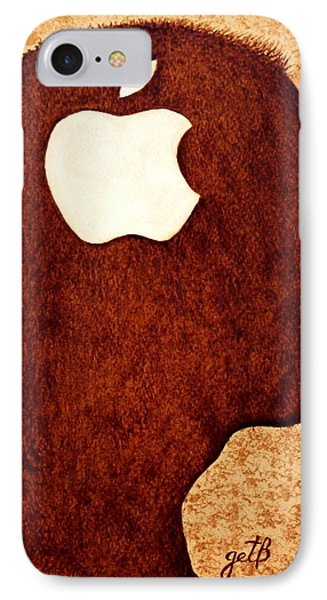 Think Different Tribute To Steve Jobs IPhone Case by Georgeta  Blanaru