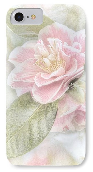 Think Pink IPhone Case by Peggy Hughes