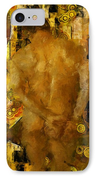 Thinking About You Phone Case by Kurt Van Wagner
