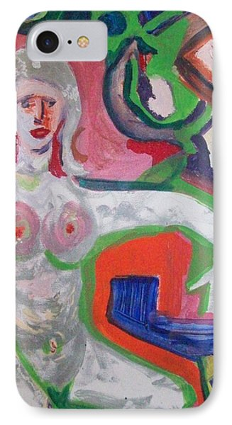 Thinking IPhone Case by James Christiansen