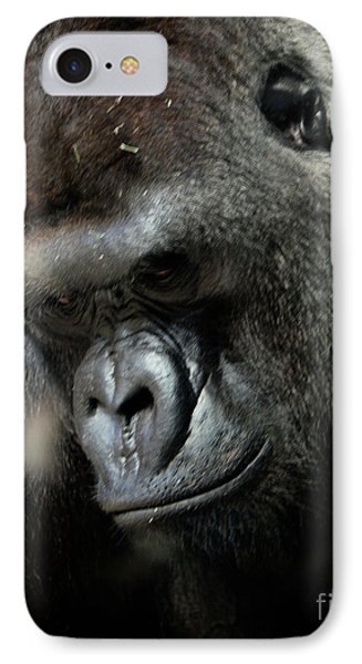 Thinking IPhone Case by Steven Reed