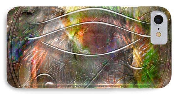 Third Eye IPhone Case by Mynzah Osiris