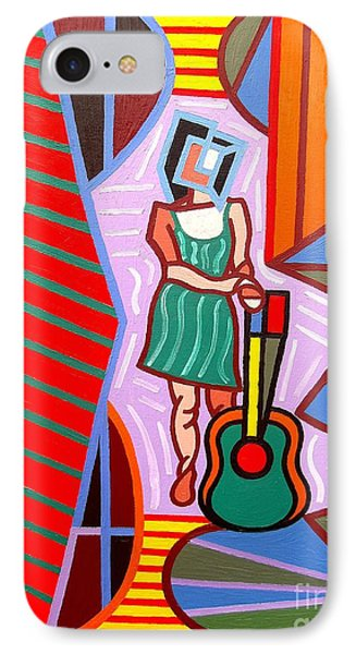 This Guitar Is More Than An Instrument Phone Case by Patrick J Murphy