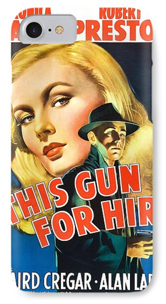 This Gun For Hire - 1942 IPhone Case
