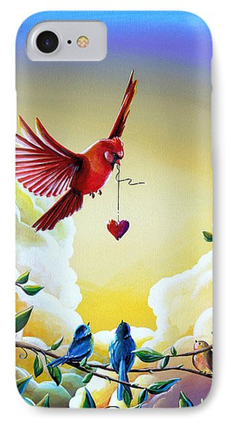 This Heart Of Mine IPhone Case by Cindy Thornton