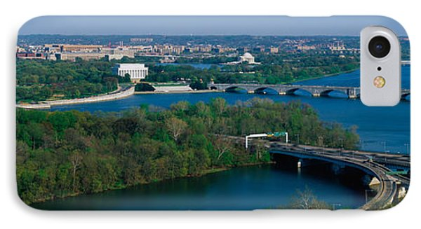 This Is An Aerial View Of Washington IPhone Case by Panoramic Images