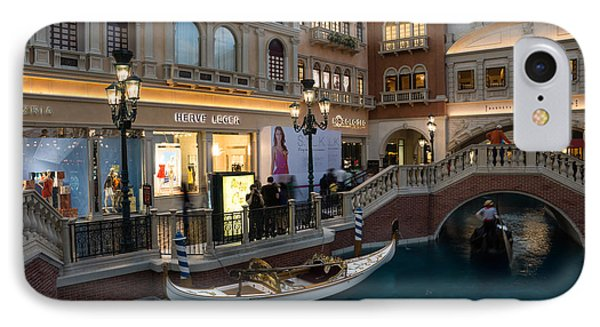 It's Not Venice - The White Wedding Gondola IPhone Case