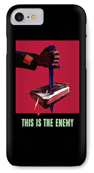 This Is The Enemy IPhone Case