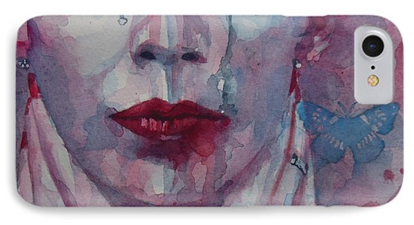 This Is The Fear This Is The Dread  These Are The Contents Of My Head IPhone Case by Paul Lovering