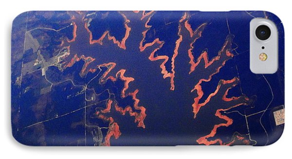 IPhone Case featuring the photograph Fire Lake by Natalie Ortiz