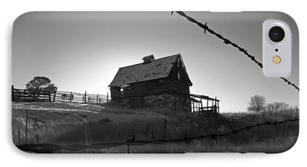 IPhone Case featuring the photograph This Old Barn by Eric Rundle