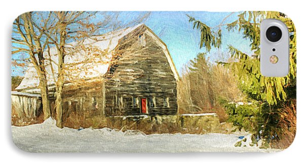 This Old Barn IPhone Case by Tina  LeCour