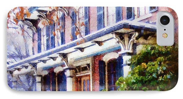 This Old Colonial House  IPhone Case by Janine Riley