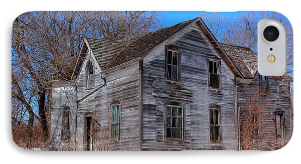 IPhone Case featuring the photograph This Old House by Larry Trupp