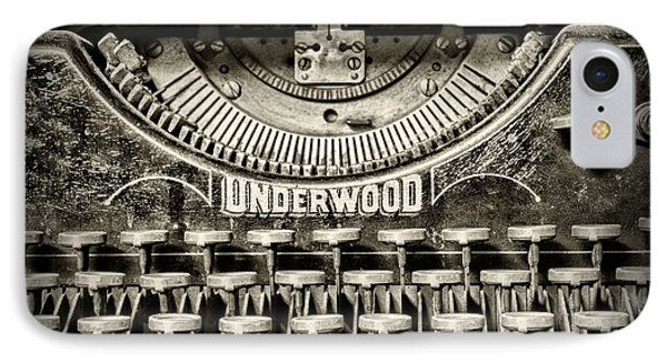 This Old Typewriter IPhone Case by Paul Ward