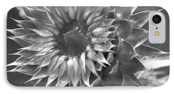 Thistle Bw IPhone Case
