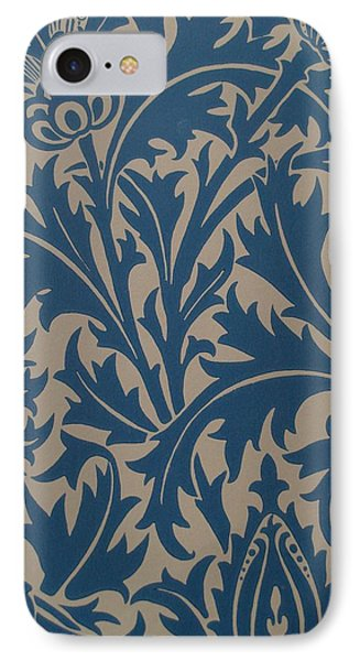 Thistle Design Phone Case by William Morris