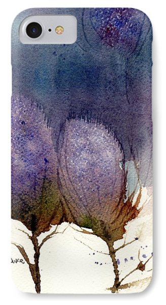 IPhone Case featuring the painting Thistle Weather by Anne Duke