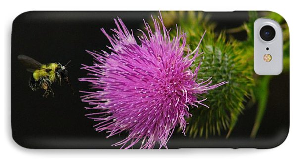 Thistle While You Work IPhone Case