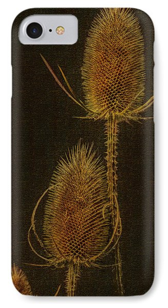 IPhone Case featuring the photograph Thistles by Hanny Heim