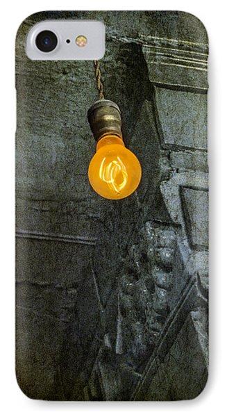 Thomas Edison Lightbulb IPhone Case by Susan Candelario