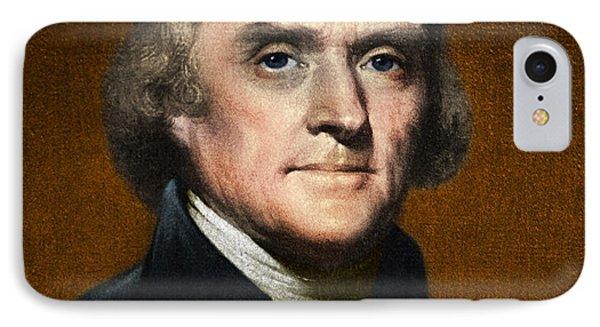 Thomas Jefferson, 3rd U.s. President IPhone Case by Omikron