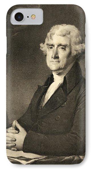 Thomas Jefferson Phone Case by American School