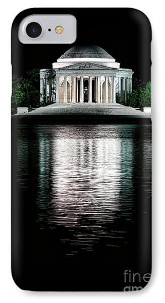 Jefferson Memorial iPhone 7 Case - Thomas Jefferson Forever by Olivier Le Queinec