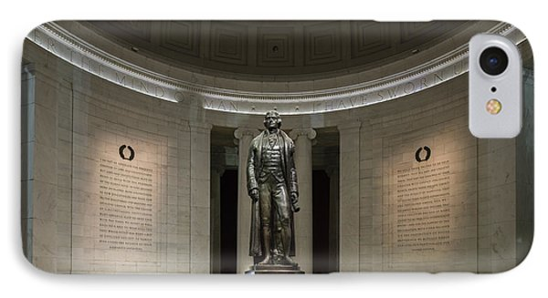IPhone Case featuring the photograph Thomas Jefferson Memorial At Night by Sebastian Musial