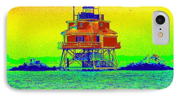 Thomas Point Lighthouse IPhone Case