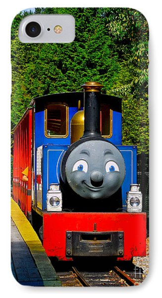 Thomas IPhone Case by Sher Nasser
