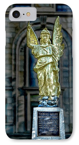 Thomas Wolfe Memorial Angel IPhone Case
