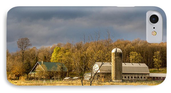 Thompson Point Dairy IPhone Case by Jeremy Farnsworth
