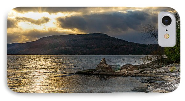 Thompson Point Sunset IPhone Case by Jeremy Farnsworth
