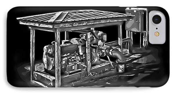Thompson Pump 2 Phone Case by Walt Foegelle