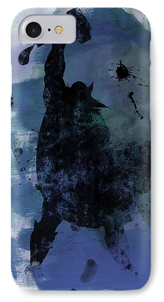 Thor Watercolor IPhone Case by Naxart Studio