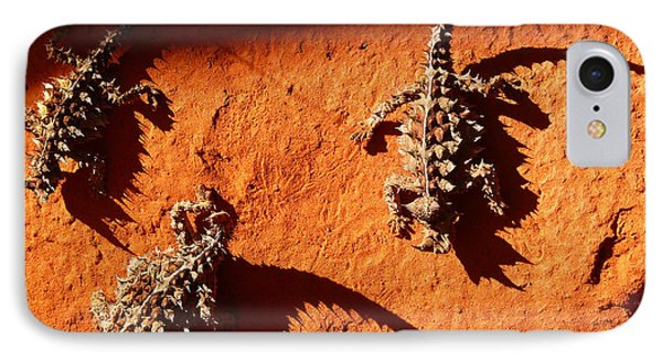 Thorny Devils IPhone Case by Evelyn Tambour
